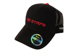 Front/side view of the Red Stripe™ Technical Trucker® Cap