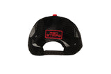 Back view of the Red Stripe™ Technical Trucker® Cap