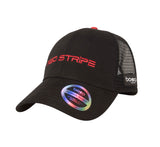 Side view of the Red Stripe™ Technical Trucker® Cap