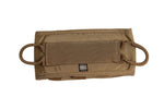 Back of the inner workspace pouch with attachment loops from the Red Stripe™ IFAK - (Individual First Aid Kit) UNLOADED