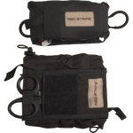 Red Stripe™ IFAK (Individual First Aid Kit) COMPLETE KIT - Black