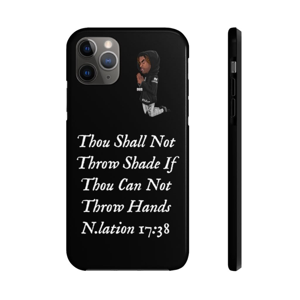""" Throw Hands"" Phone Case - Niggalations Corp"