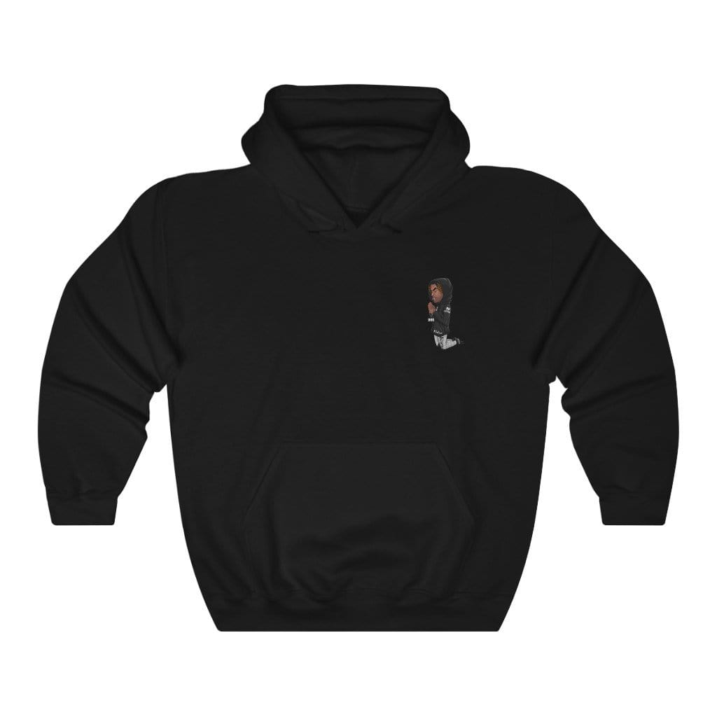 "Small Logo ""Throw Hands"" Hoodie - Niggalations Corp"