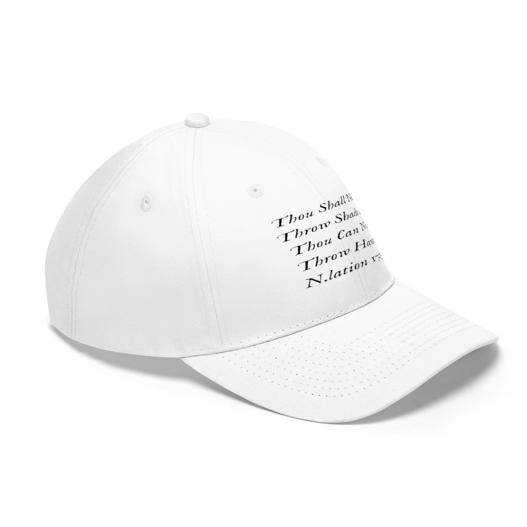 """Throw Hands"" Dad Hat - Niggalations Corp"