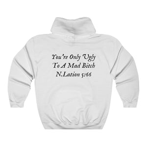 "Small Logo"" Mad Bitch"" Hoodie. - Niggalations Corp"