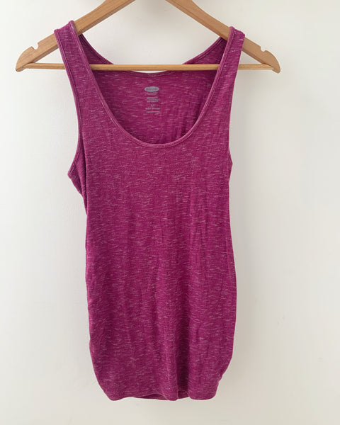 Old Navy maternity- purple tanktop - size small