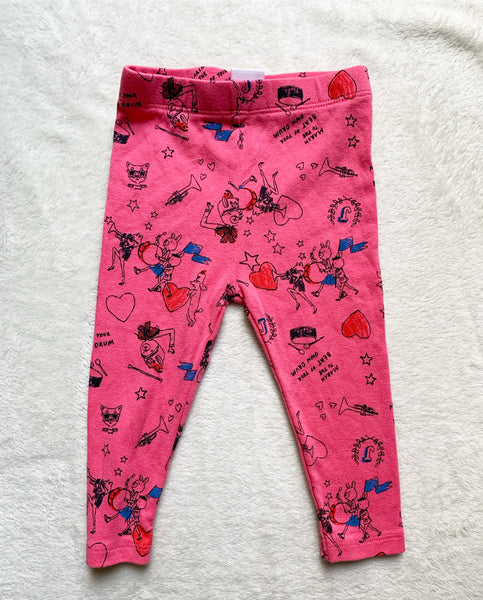 Marching leggings 12-18m