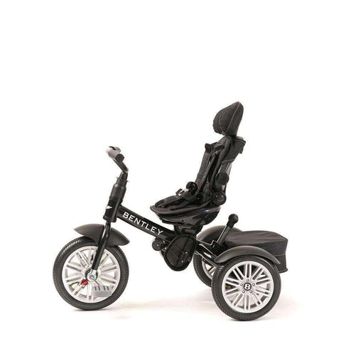 Bentley Tricycle 6 in 1 Driewieler en Buggy - Onyx Black
