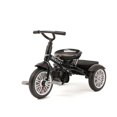 Image of Bentley Tricycle 6 in 1 Driewieler en Buggy - Onyx Black
