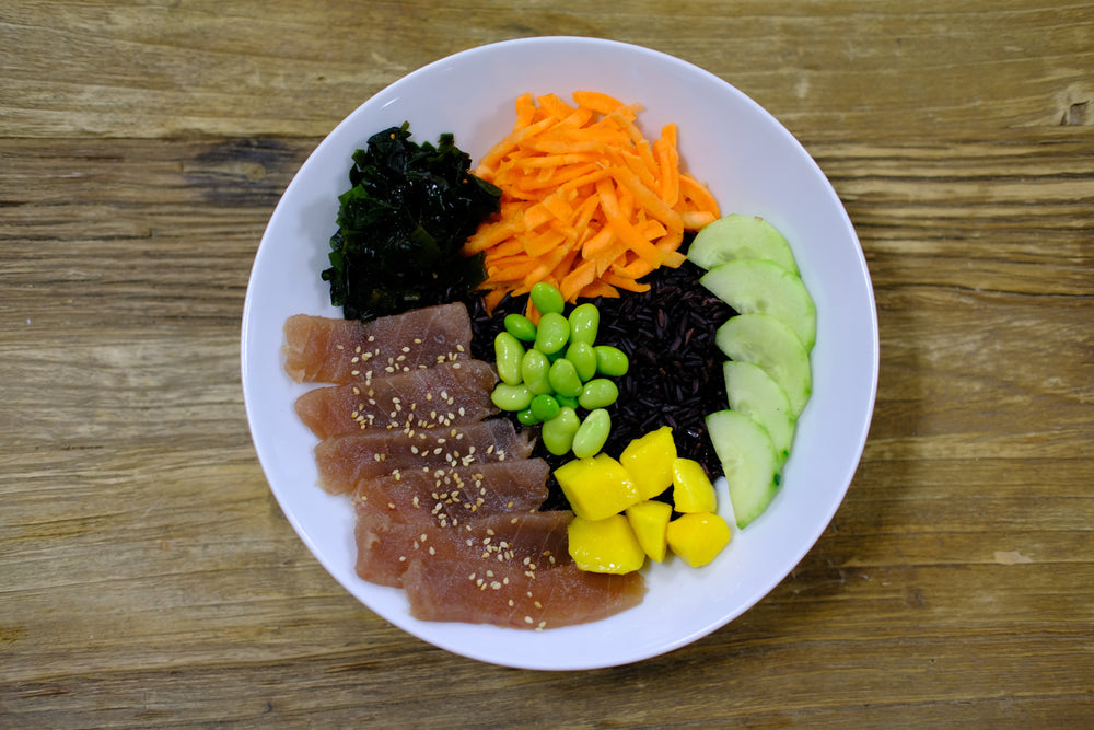 Poke Bowl Raw Tuna