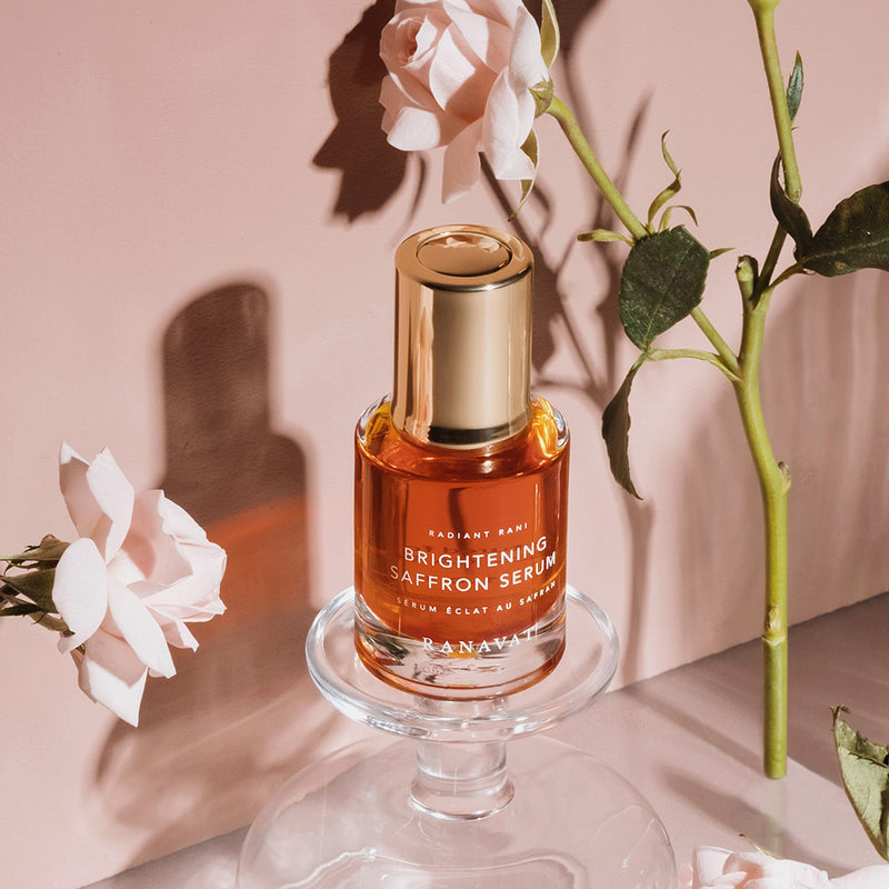Radiant Rani: Brightening Saffron Serum