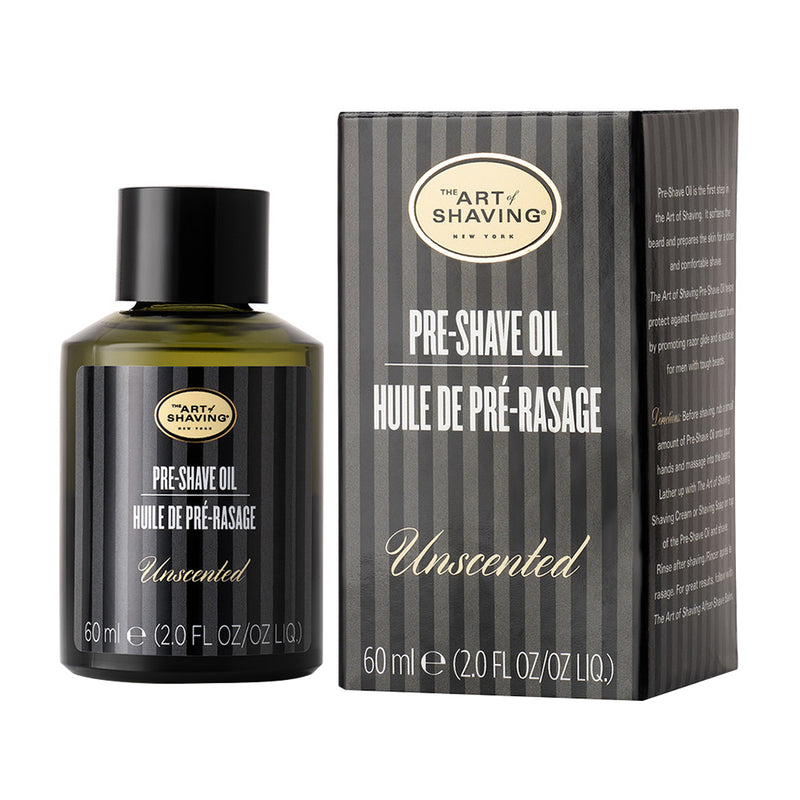 Unscented Pre Shave Oil