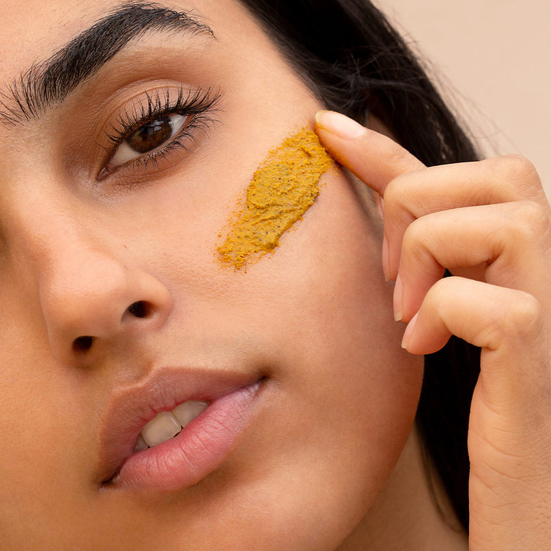 Turmeric Sand Exfoliant Face Masque