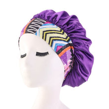 "Load image into Gallery viewer, L.A. Hair and Beauty Bar Presents ""The Edge Bonnet"" Plush"
