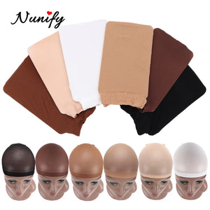 Nunify Nude Mesh Net Wig Caps With Closed End