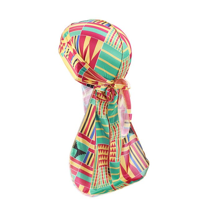 Silky Durags African Print
