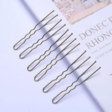 Load image into Gallery viewer, 40pcs 6cm U Shape Hair Clips Bobby Pins