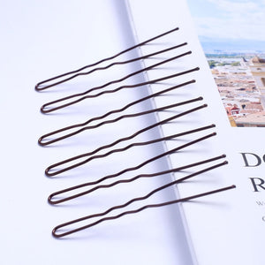 40pcs 6cm U Shape Hair Clips Bobby Pins