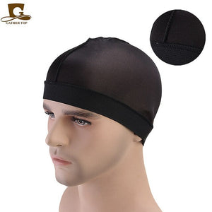 Fashion Silky Wave Cap with Elastic Band