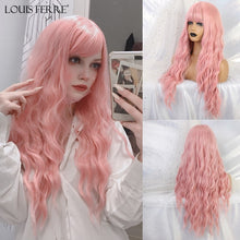 Load image into Gallery viewer, LOUIS FERRE Long Wavy Wigs
