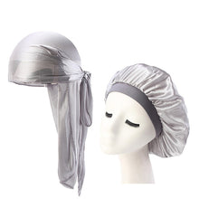 Load image into Gallery viewer, New Sparkly Silk Durag Bonnet Headwear Colorful