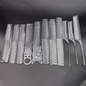 Hair Stylist Transparent Cutting Barber Comb