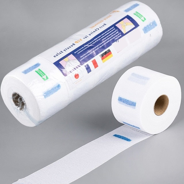 1Roll Neck Paper Covering Disposable