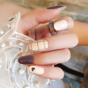 Fashion Full Cover Long Round Nails