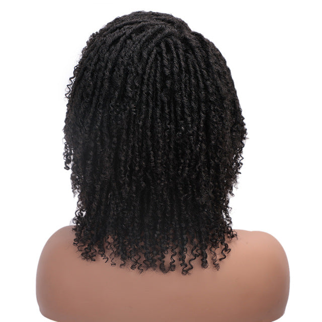 ELEGANT MUSES | Short Synthetic Wig Faux Locs