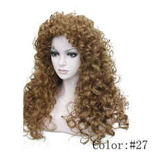 Load image into Gallery viewer, Women's Synthetic Wigs Long Curly Wig
