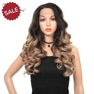 Golden Beauty | 24inch Lace Front Wigs
