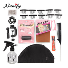 Load image into Gallery viewer, Nunify Head Stand For Wig Making Tool Kit