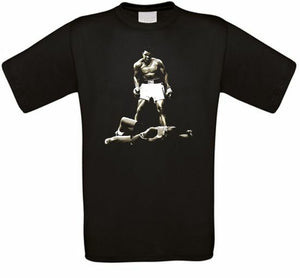 Ali Boxes Black Power Great T Shirt