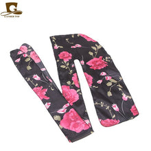 Load image into Gallery viewer, GATHERTOP Women Flower Skull Tower Design Silky Satin Durag (7 Patter)
