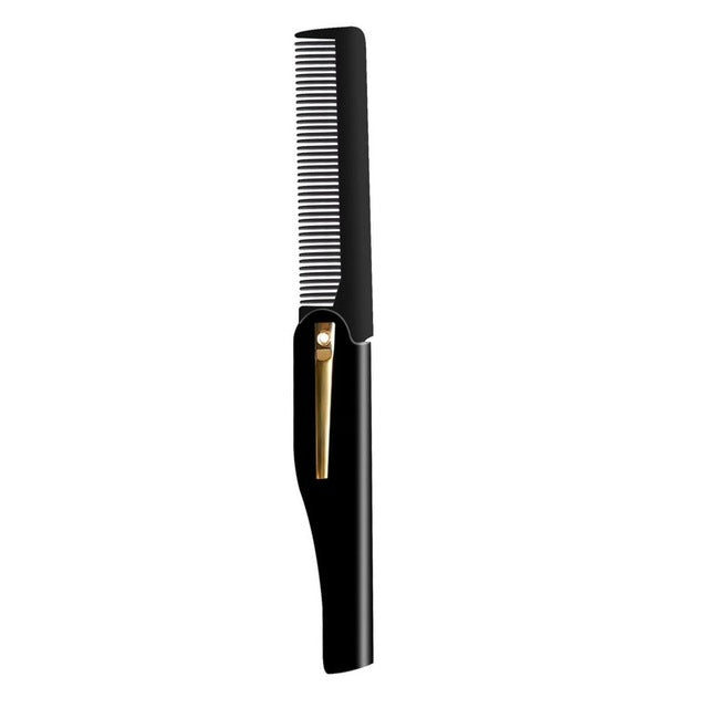 Men Professional Handmade Folding Hair Comb