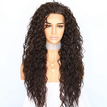 Load image into Gallery viewer, Lvcheryl | Black Highlight Kinky Curly Hair Wig