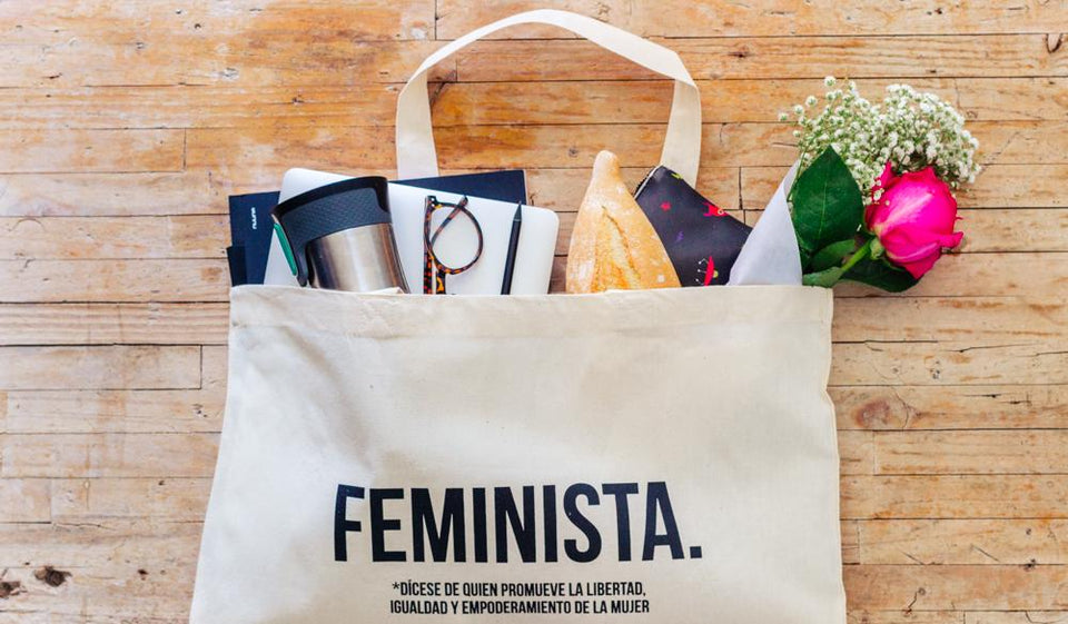 Rewinder Bag Medium Shopping Bag Feminista Eco Zero Waste