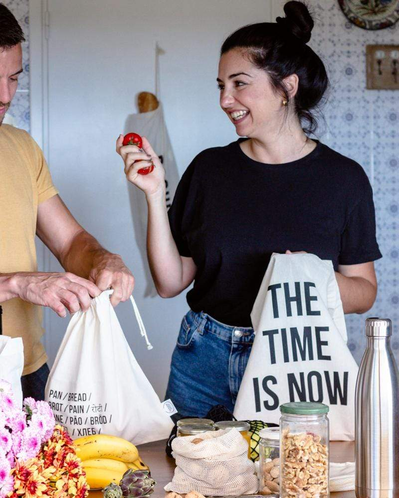 Rewinder Bag Shopping Bag - The Time Is Now Tote Eco Zero Waste