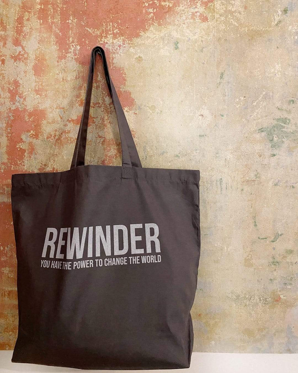 Rewinder Bag Large Shopping Bag Rewinder (Grey) Eco Zero Waste