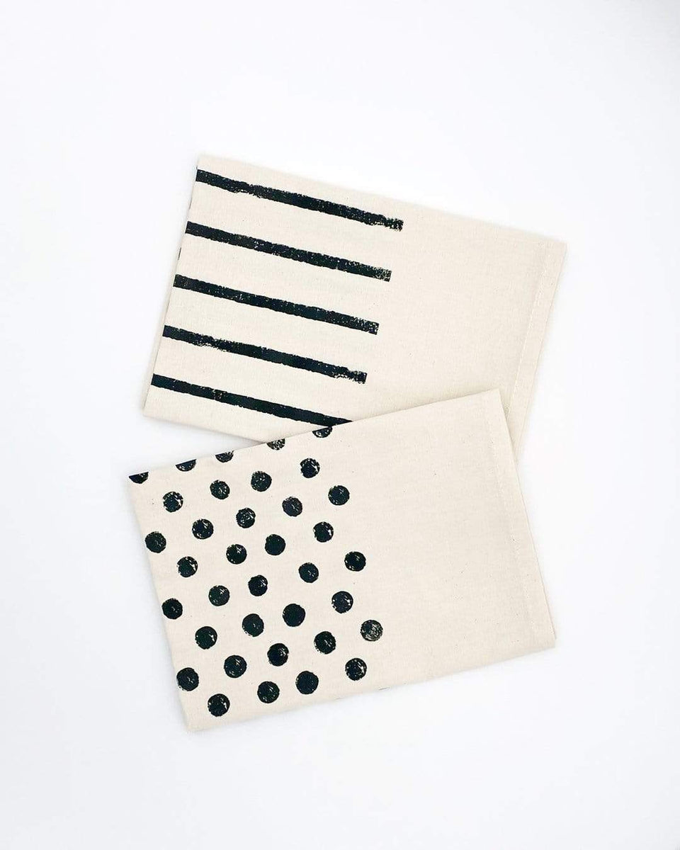 Rewinder Eco Towel Striped and Polka Dot Cloth Pack Eco Zero Waste