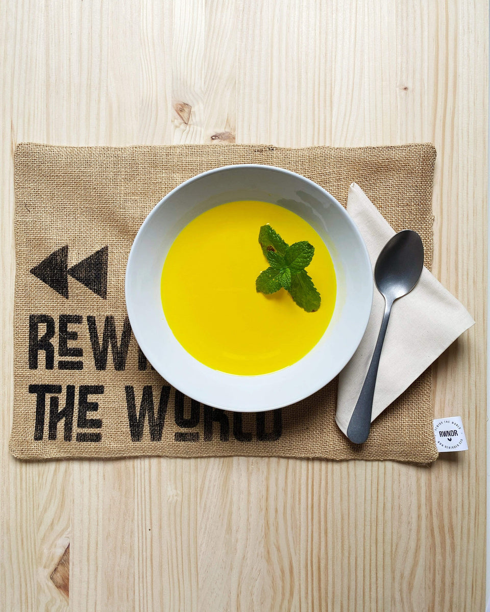 Rewinder Place Mat Rewind The World Place Mat 4 Pack Eco Zero Waste