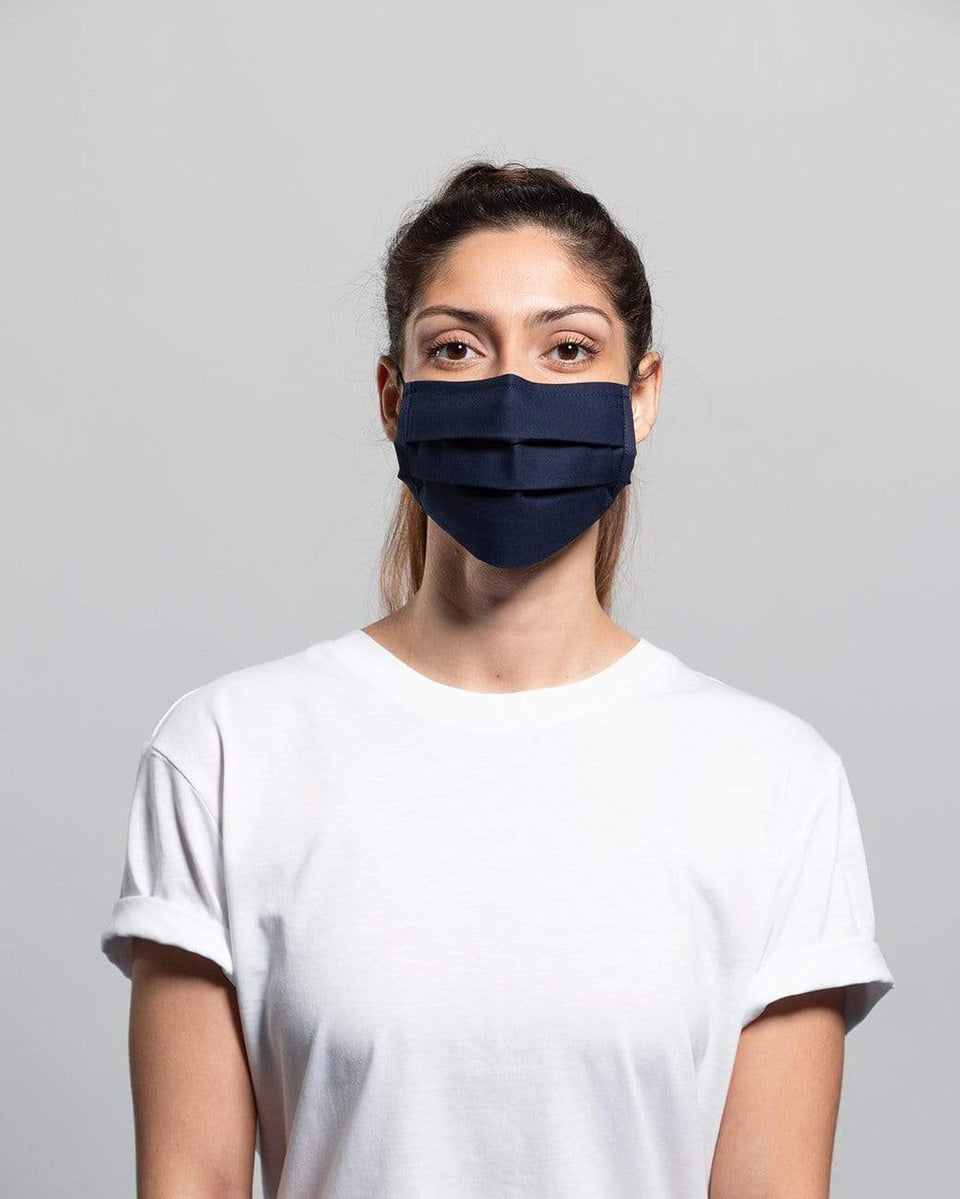 Rewinder Reusable Certified Eco Face Mask One Week Pack x5 - Rewinder40 Basic Eco Zero Waste