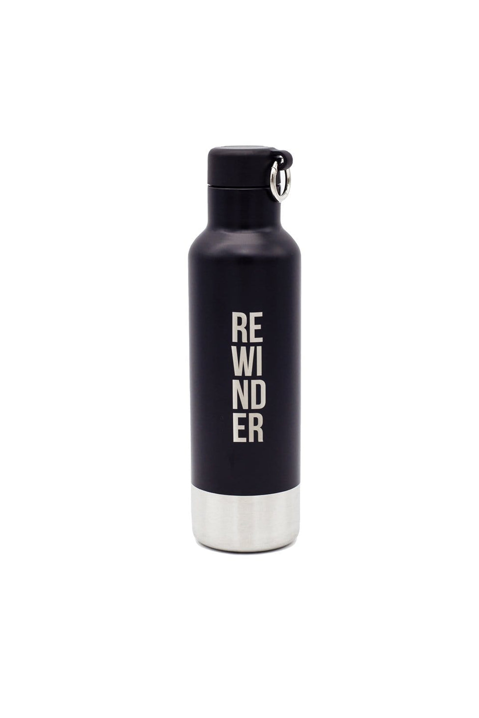 Rewinder Reusable Inox Bottle Reusable Bottle Inox Rewinder City Black Eco Zero Waste