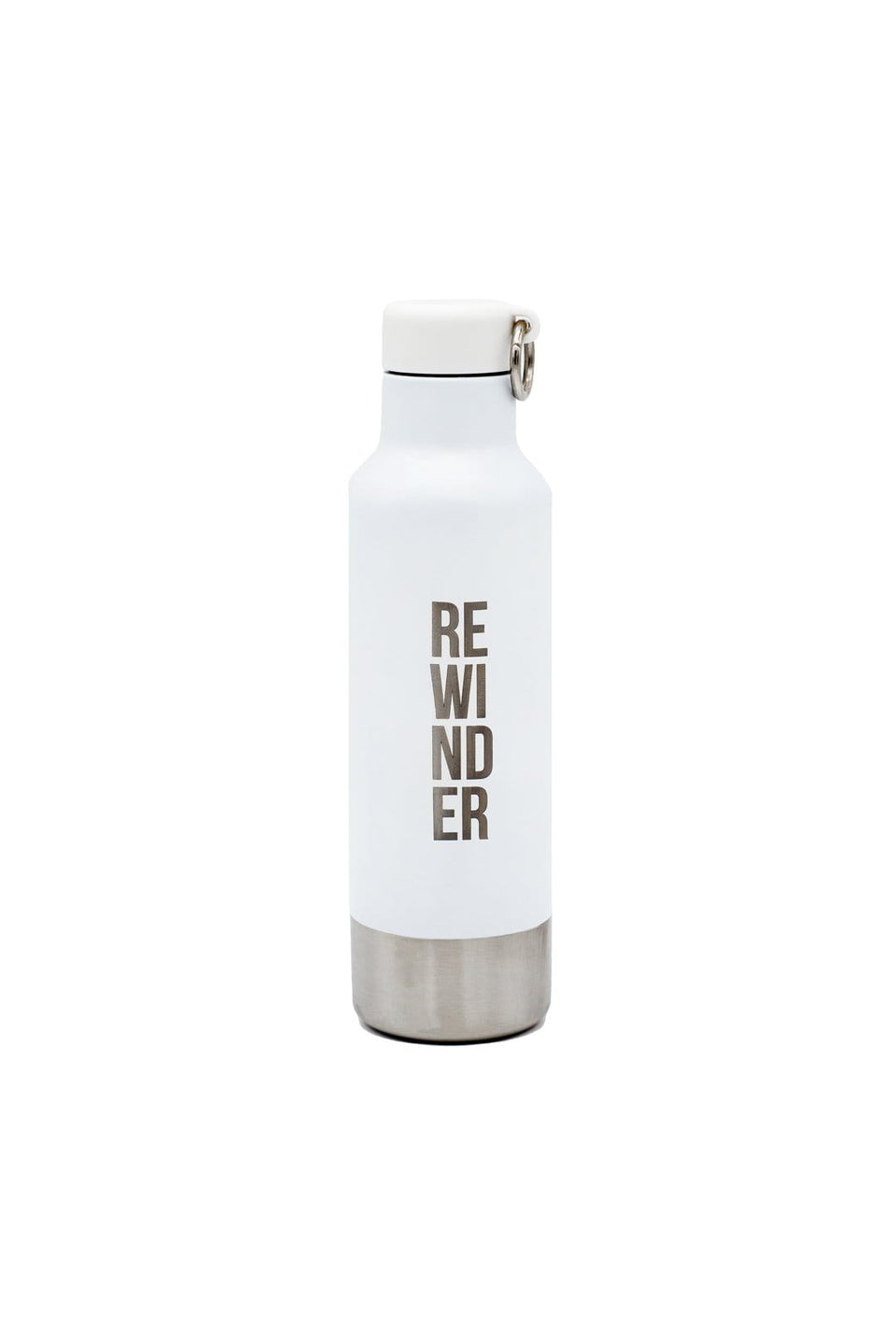 Rewinder Reusable Inox Bottle Reusable Bottle Inox Rewinder City White Eco Zero Waste