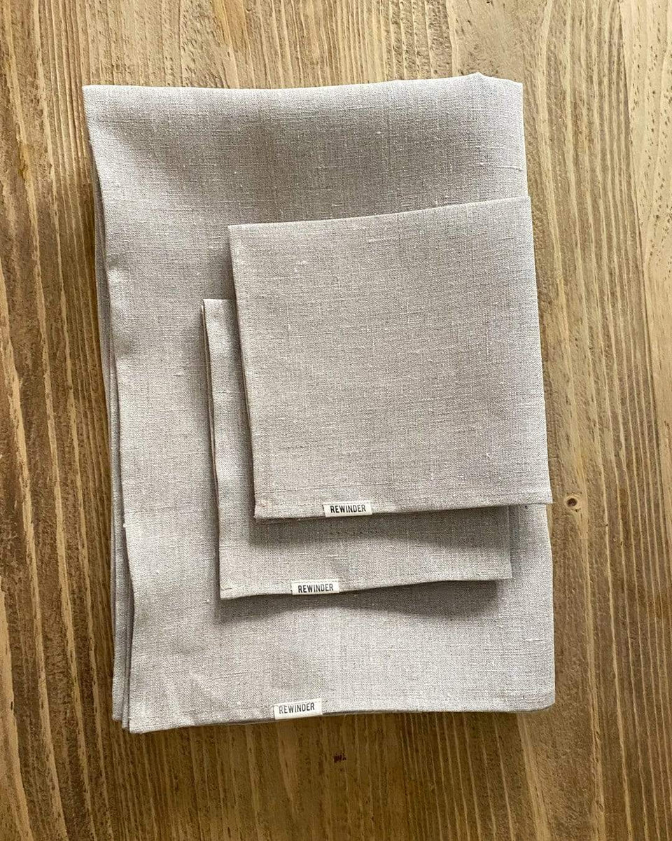 Rewinder tablecloth Linen Tablecloth Eco Zero Waste