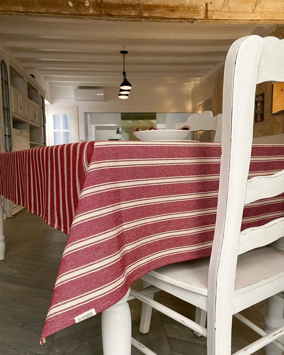 Rewinder tablecloth Stripes Tablecloth Eco Zero Waste