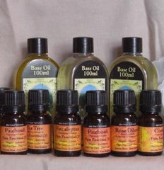Pure Essential Oils (10ml glass bottles)