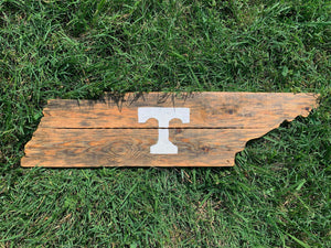 "Rustic Natural ""T"" Tennessee"