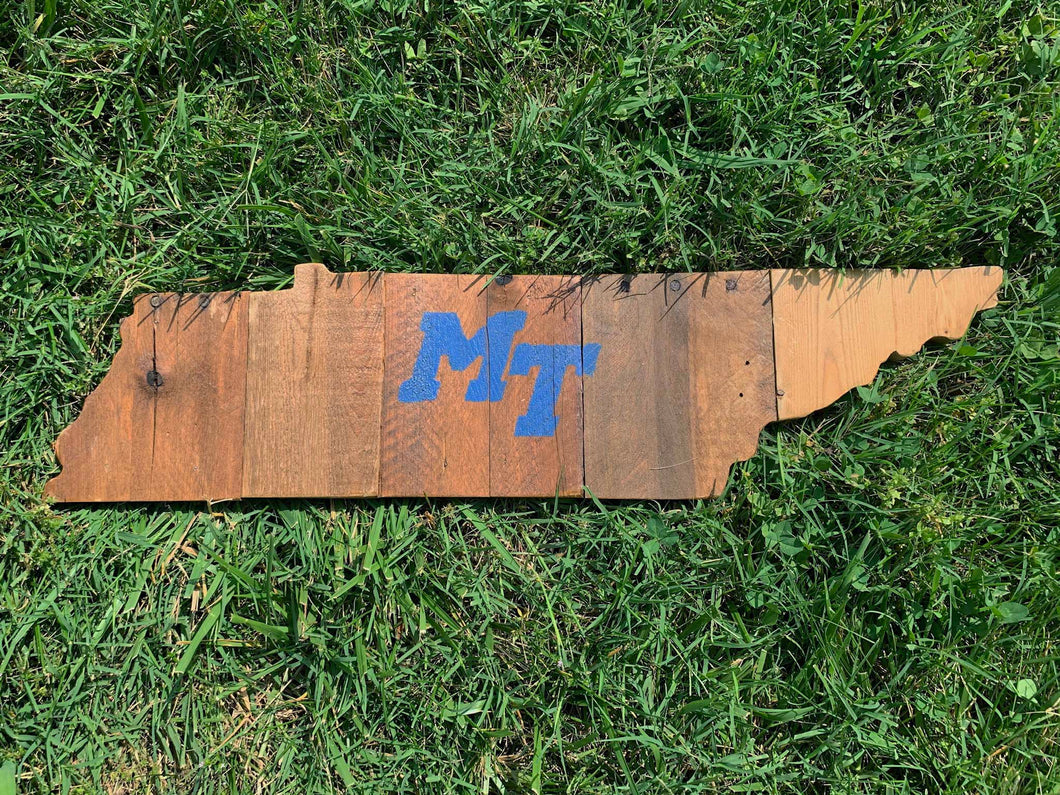 Rustic Natural MTSU Tennessee