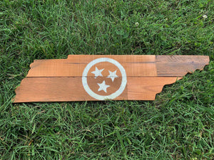 Rustic Natural Tri Star Tennessee